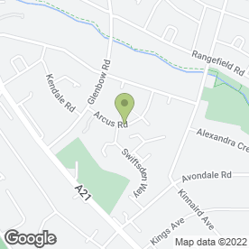 Map of Fresh Delice in Bromley, London, kent