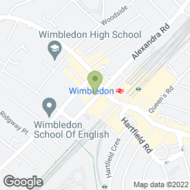 Map of Morrisons Solicitors in Wimbledon, london