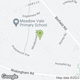 Map of Charcoal Grill in Bracknell, berkshire