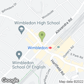 Map of Gina Conway Aveda Lifestyle Salon And Spa in London, Greater London, london