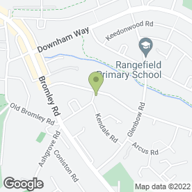 Map of Ivesfx in Bromley, kent