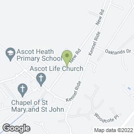 Map of Berkshire Turf in Ascot, berkshire