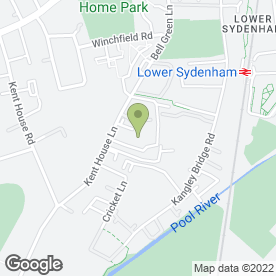 Map of Wavertree Automatics in Beckenham, kent