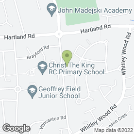 Map of Curry Chef in Reading, berkshire