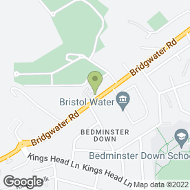 Map of South Bristol Crematorium & Cemetery in Bristol, avon