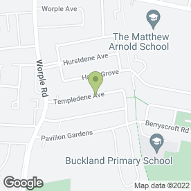 Map of MICO Cleaning Solutions in Staines-Upon-Thames, middlesex