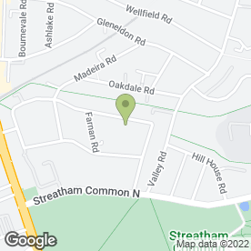 Map of Huge Holdings in Streatham, London, london