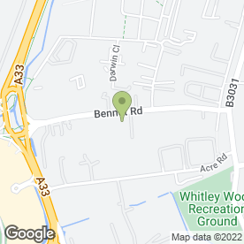 Map of Blade Reading Honda in Reading, berkshire