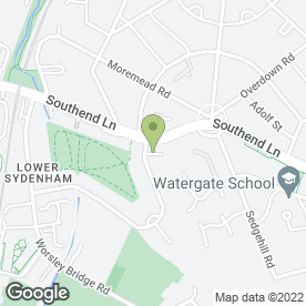 Map of After Glow Services in London, london