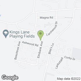 Map of Advanced Tree Surgeons Ltd in Englefield Green, EGHAM, surrey