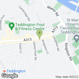 Map of CAL Landscaping in Teddington, middlesex