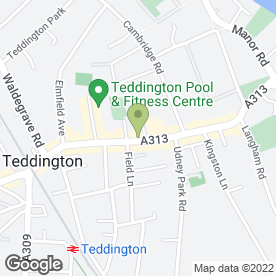 Map of Shambles in Teddington, middlesex