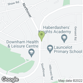 Map of Classic Wedding Cars in Bromley, kent