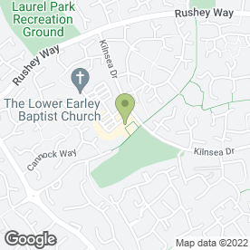 Map of Kei Peking Restaurant in Lower Earley, Reading, berkshire