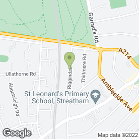 Map of ABU UMAR in Streatham, London, london