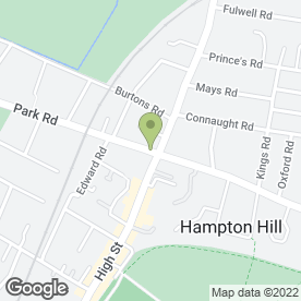Map of Sticks & Stones in Hampton Hill, Hampton, middlesex