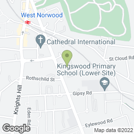 Map of West Norwood Heating & Boiler Specialists in London, london