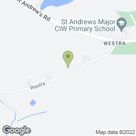 Map of Westra Boarding Kennels in Dinas Powys, south glamorgan