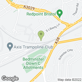 Map of Davis Roofing Ltd in Ashton Vale, Bristol, avon