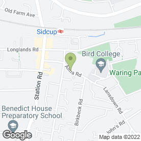 Map of HARRY GOWER LTD in Sidcup, kent
