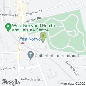 Map of Gold Star Errands in London, london