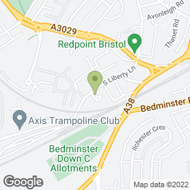 Map of Ldm - Services Carpet & Upholstery Cleaners in Ashton, Bristol, avon