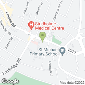 Map of Ashford Kitchens & Interiors Ltd in Ashford, middlesex