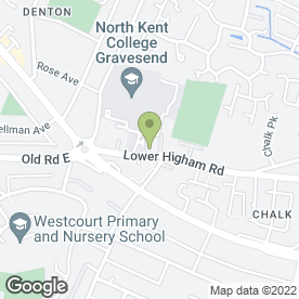 Map of City Praise Centre in Gravesend, kent