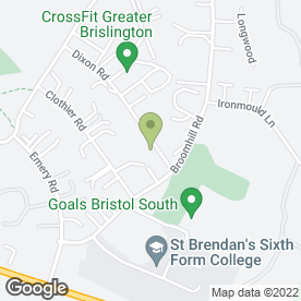 Map of UKS Group Ltd in Brislington, Bristol, avon