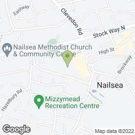 Map of Tower House Medical Centre in Nailsea, Bristol, avon