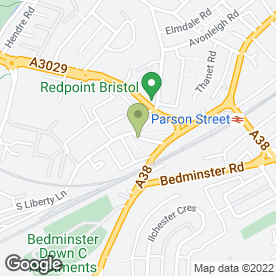 Map of AVON UNIVERSAL CLEANING & MAINTENANCE SERVICES in Bristol, avon