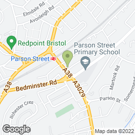 Map of Carpet & Upholstery Cleaning Co in Bristol, avon