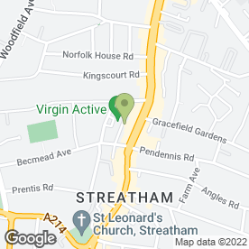 Map of 3 Store in Streatham, London, london