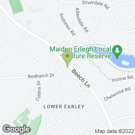 Map of TDL Mobile Dent Repair in Earley, Reading, berkshire