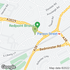 Map of Bristol Mowers in Ashton, Bristol, avon