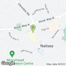 Map of ORCHARDS in Nailsea, Bristol, avon