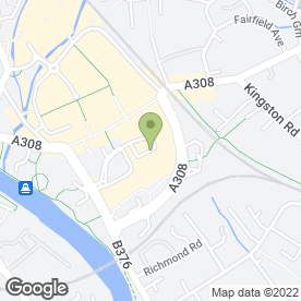 Map of Beauty Base in Staines-Upon-Thames, middlesex