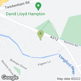 Map of Mr. Carpetmaster in Hampton Hill, Hampton, middlesex