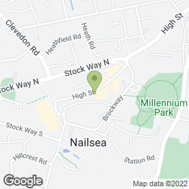 Map of Reeds Rains Estate Agents in Nailsea, Bristol, avon