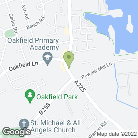 Map of Cafe de Rumpy in Dartford, kent