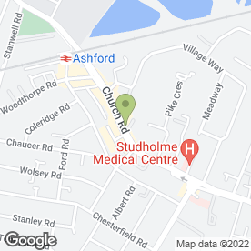 Map of The Party People in Ashford, middlesex