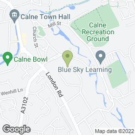 Map of Daylan Gleed Roofing Ltd in Calne, wiltshire