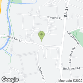 Map of JEMCA Toyota Reading in Reading, berkshire
