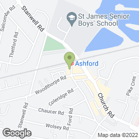 Map of Hammicks Legal Information Services in Ashford, middlesex