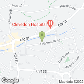 Map of Clevedon Tyres Ltd in Clevedon, avon