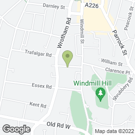 Map of Wynne Electrical Contractors in Gravesend, kent