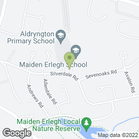 Map of Maiden Erleigh P.O in Earley, Reading, berkshire