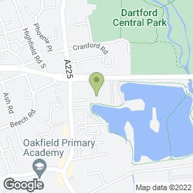 Map of Homebase Ltd in Dartford, kent