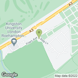 Map of Putney Vale Cemetery & Crematorium in London, london