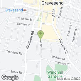 Map of Fadlat Beauty Salon in GRAVESEND, kent
